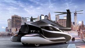 Uçan Arabalar Piyasada Yerini Almaya Başlıyor