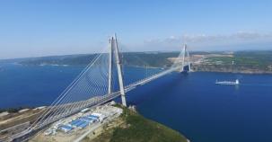 Yavuz Sultan Selim Köprüsü'nde Son Hazırlıklar