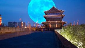 Çin önümüzdeki yıllarda şehir ışıklarının yerini alması için uzaya bir yapay Ay fırlatmayı planlıyor.
