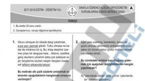 LGS Türkçe Soru ve Cevapları