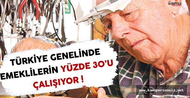 11 Milyon Emeklinin Yüzde 30'u Çalışıyor