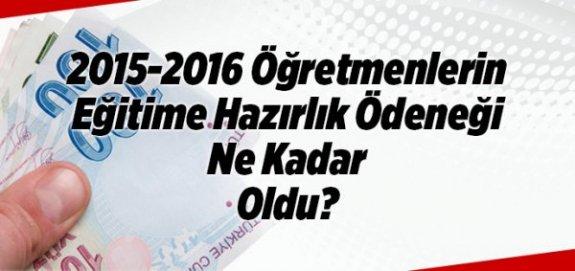 2016 Yılı Şubat Ayında Atanan Öğretmenlerin Hazırlık Ödeneği Ne Kadar Olacak?