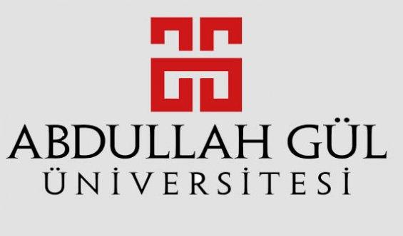 Abdullah Gül Üniversitesi Personel Alımı