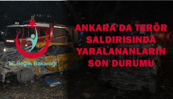 Ankara'daki Terör Saldırılarında Yaralananların Durumu