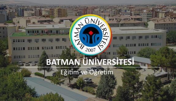 Batman Üniversitesi 31 Akademik Personel Alacak