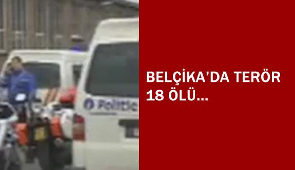 Belçika'da Hava Limanı ve Metro'da Terör Paniği 18 Ölü