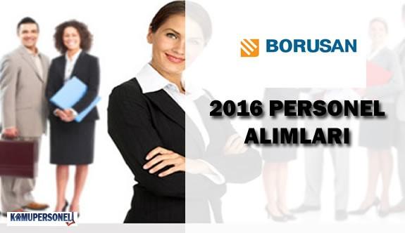 Borusan Personel - Eleman Alımlarına Devam Ediyor