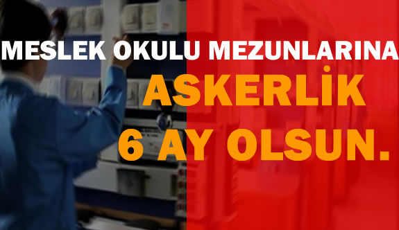"""Cahit Nakıboğlu:""""Meslek Okulu  Mezunlarına Askerlik 6 Ay Olmalı"""""""