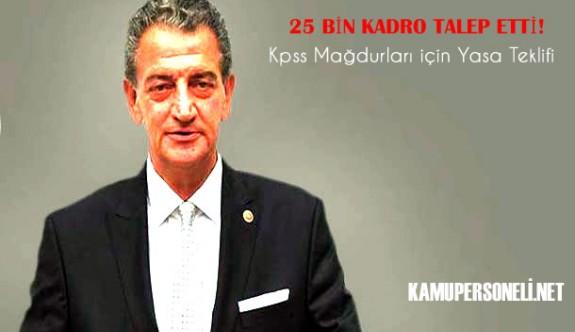 KPSS 2016 için 25 Bin Kadro Açılmalı