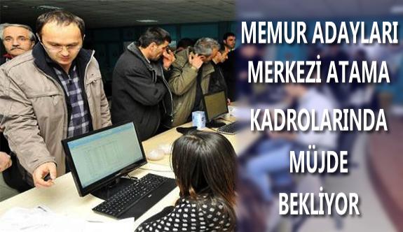 Memur Adayları da KPSS Merkezi Atamaları için Müjde Bekliyor