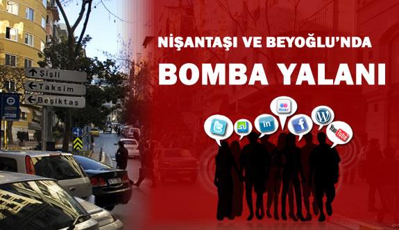 Nişantaşı ve Bayrampaşa'da Bomba Patladı Yalanı