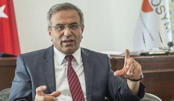 ÖSYM Başkanı KPSS'nin Neden Öne Çekildiğini Açıkladı