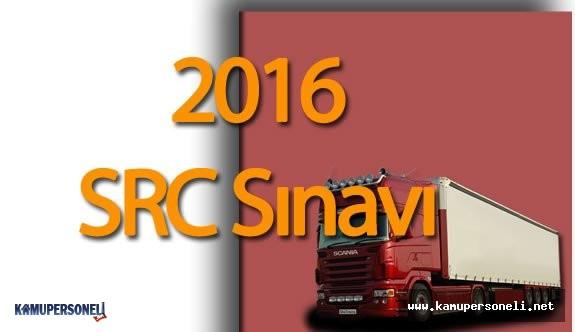 2016 SRC Sınavı Hakkında Herşey ( SRC Sınav Başvuruları, Yorumları, Soruları ve Cevapları)