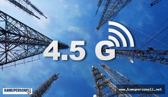 """""""4,5G"""" Taşraya devlet tarafından götürülecek"""