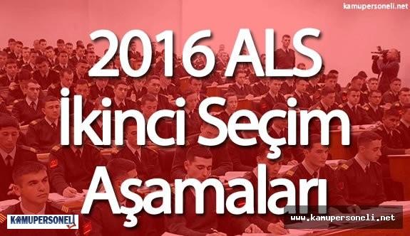 ALS İkinci Seçim Aşamaları Ne Zaman Yapılacak?