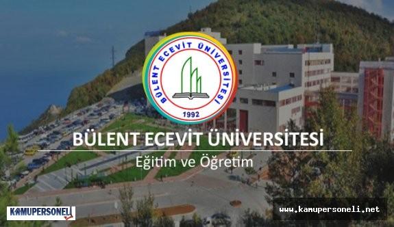 Bülent Ecevit Üniversitesi 13 Akademik Personel Alımı