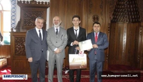 Din Öğretimi Genel Müdürlüğü Hutbe Okuma Yarışması Finalleri Hakkında Açıklama