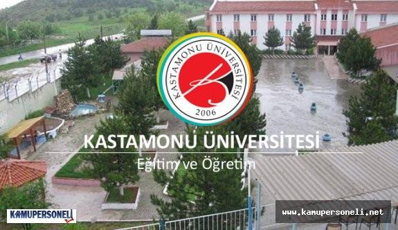 Kastamonu Üniversitesi Memur Alımı