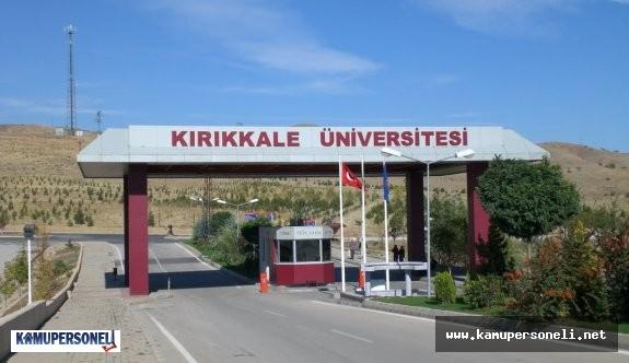 Kırıkkale Üniversitesi Memur Alımı