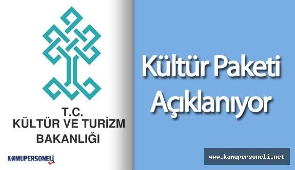 Kültür ve Turizm Bakanlığı Kaç Personel Alımı Yapacak  ( Kültür Paketi Açıklanıyor)