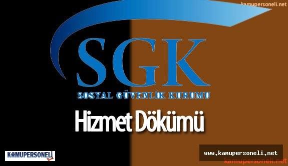 SGK Sigorta Primi Sorgulama ( e-Devlet Sigorta Dökümü Alma)
