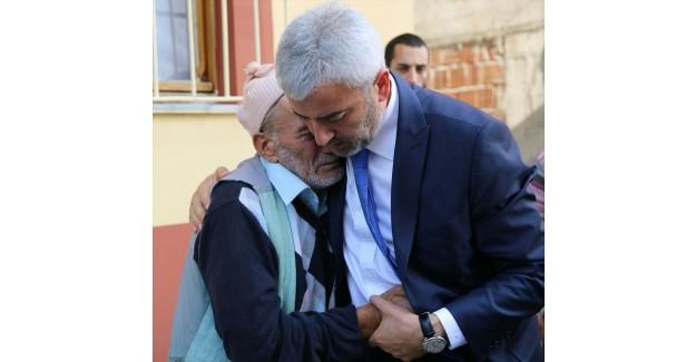 Ordu Valisi İrfan Balkanlıoğlu Şehit Ailesini Ziyaret Etti