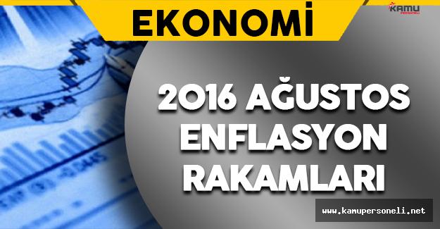 2016 Ağustos Ayı Enflasyon Rakamları Açıklandı