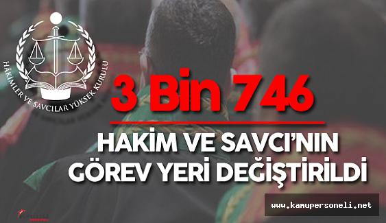2016 HSYK Kararnamesi Açıklandı (3 Bin 746 Hakim ve Savcının Yerleri Değiştirildi)