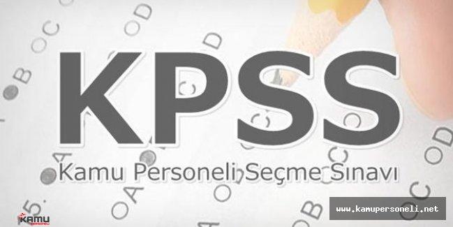 2016 KPSS Lisans Soru ve Cevaplar Yayımlandı