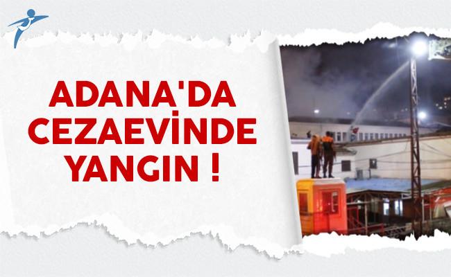 Adana'da cezaevinde yangın çıktı: Mahkumlar hastaneye kaldırıldı