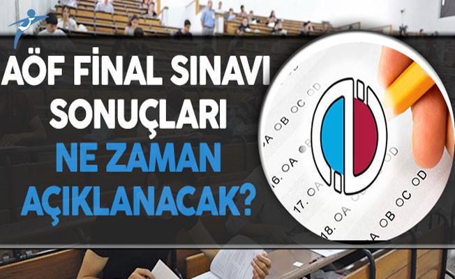 Anadolu Üniversitesi AÖF Final Sınavı Sonuçları Ne Zaman Açıklanacak?