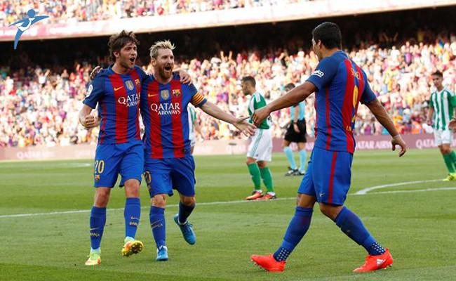 Barcelona, Real Betis Lig Maçında Skandal Karar!