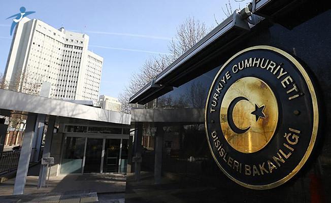 Dışişleri Bakanlığı'ndan Yunanistan'ın verdiği karara tepki