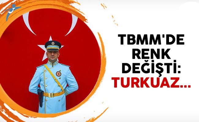 TBMM'de nöbet tutan polislerin üniforması değişti