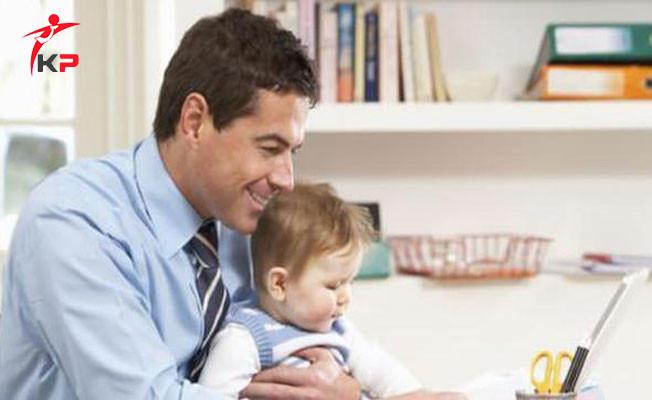Babalara Yarım Gün Doğum İzni