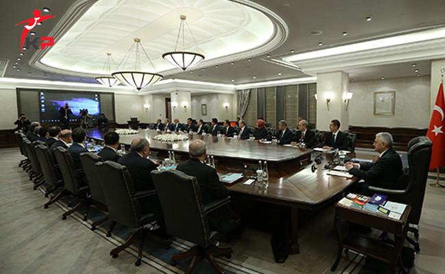 Bakanlar Kurulu Başbakan Yıldırım Başkanlığında Bir Araya Geldi