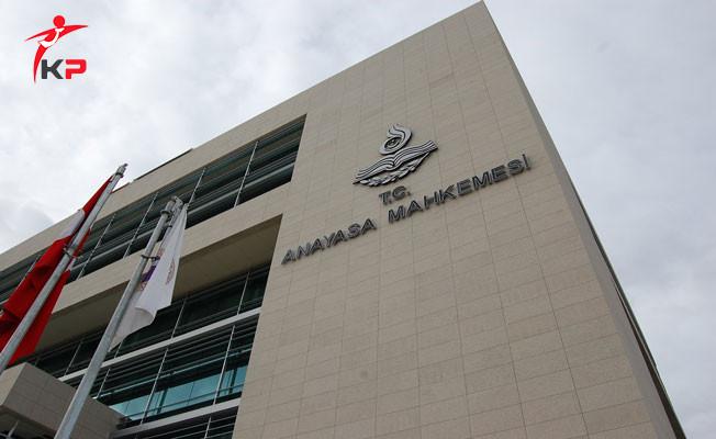 CHP'nin Anayasa Mahkemesine Başvurusuna Ret Kararı