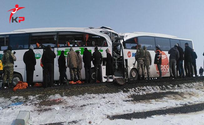 Iğdır'da İki Otobüs Çarpıştı: Ölü ve Yaralılar Var