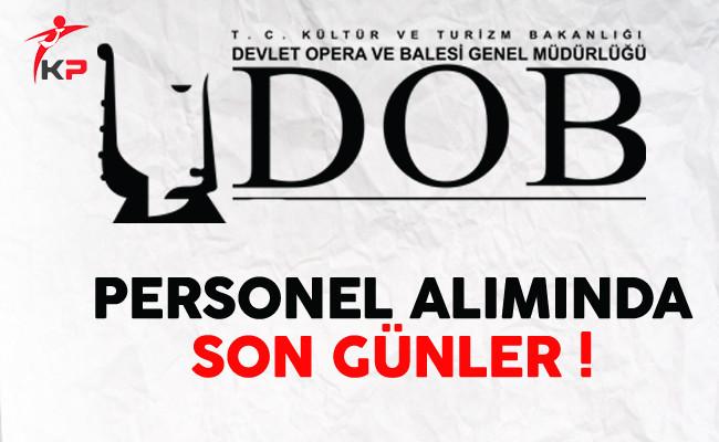 İzmir DOB Sözleşmeli Personel Alımı Başvurularında Son Günler !