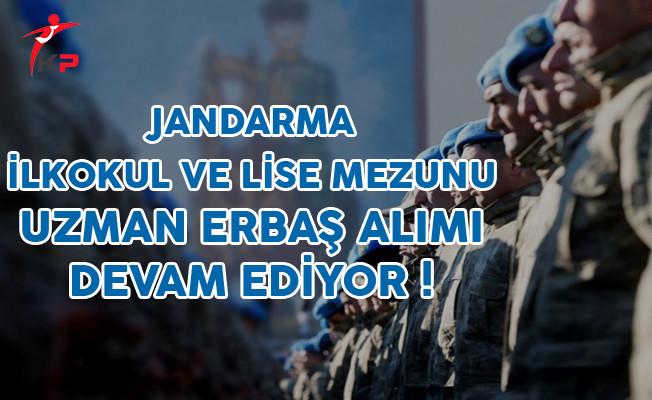 Jandarma Genel Komutanlığı Uzman Erbaş Alımı Başvuruları Devam Ediyor