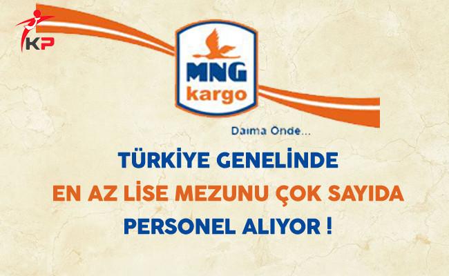 MNG Kargo Türkiye Genelinde Çok Sayıda Personel Alıyor