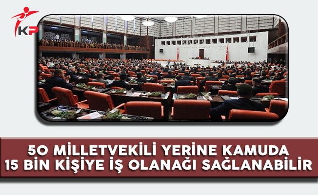 CHP'li Gürer: '50 Milletvekili Yerine Kamuya 15 Bin Kişiyi İşe Alın'