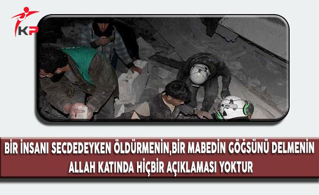 ABD'nin Cami Katliamına Türkiye'den Sert Tepki