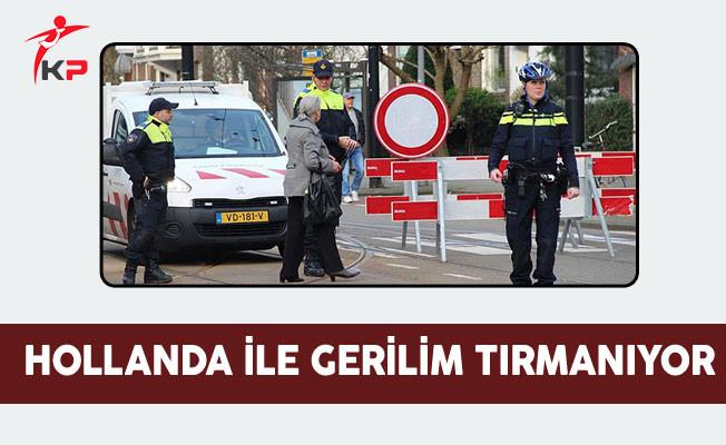 Aile Bakanı Kaya'nın aracı Hollanda girişinde durduruldu
