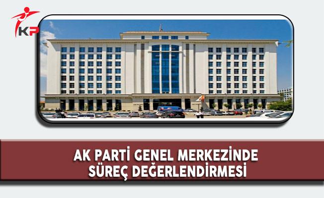 AK Parti Genel Merkezinde Halk Oylaması Süreç Değerlendirmesi