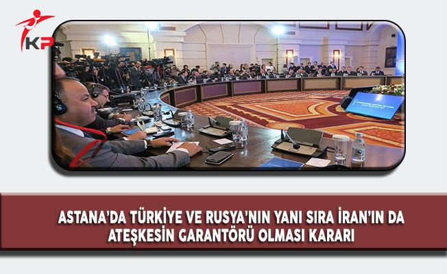 Astana Toplantısı'nda Ortak Karar