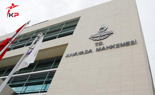 AYM'nin CHP'nin Başvurusuna Ret Kararı Resmi Gazete'de