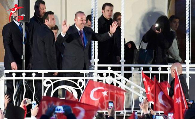 Bakan Çavuşoğlu: Bu Engellemeler Bizi Sindiremez,Bizi Korkutamaz