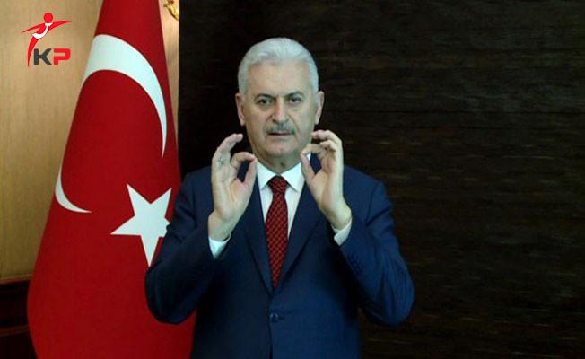 Başbakan Yıldırım'dan İşaret Diliyle Evet Daveti