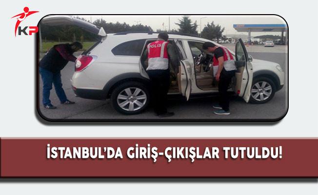 İstanbul'da 1000 Polisle Arama Uygulama Operasyonu! Giriş Çıkışlar Tutuldu